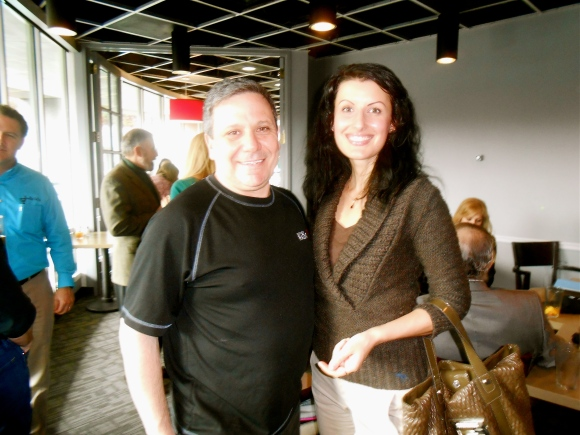 Anna Stevens and Lee Kantor